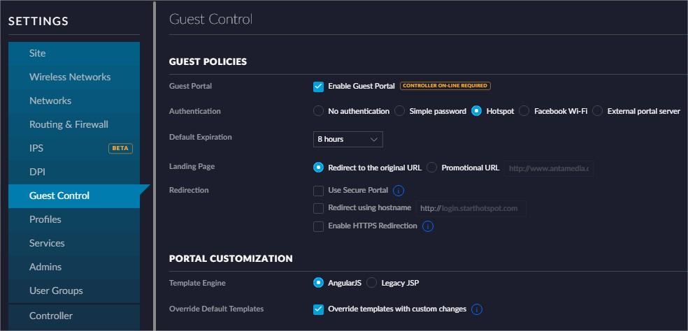 Ubiquiti UniFi Cloud Controller I Start Hotspot Cloud WiFi