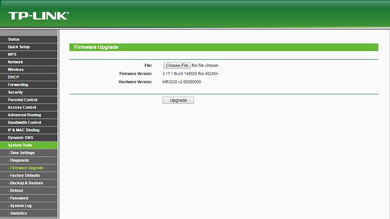 OpenWRT Firmware upgrade 1