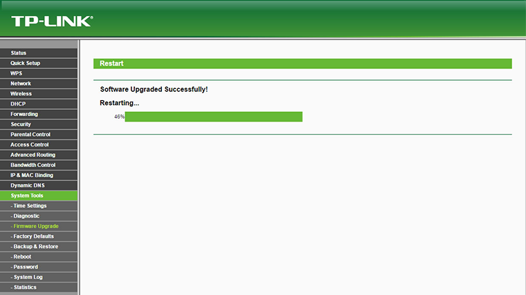 OpenWRT Firmware upgrade 3
