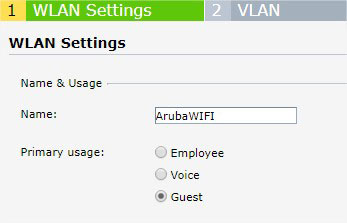 Aruba I Start Hotspot Cloud WiFi