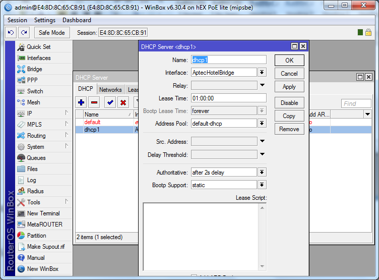 Mikrotik Manual Configuration I Start Hotspot Cloud WiFi